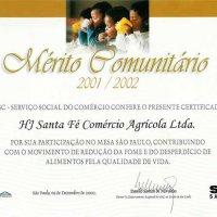 Mérito Comunitário - Mesa Brasil